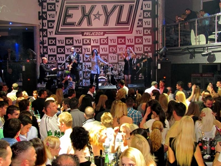 Severina @ Ex-Yu Night club Prijedor