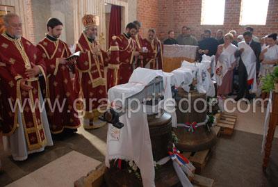 crkva gomjenica-osvestanje zvona 1