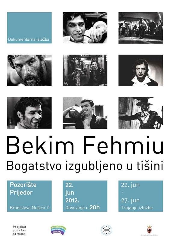 Dokumentarna izložba Bekim Fehmiu-Bogatstvo izgubljeno u tišini - GradPrijedo...