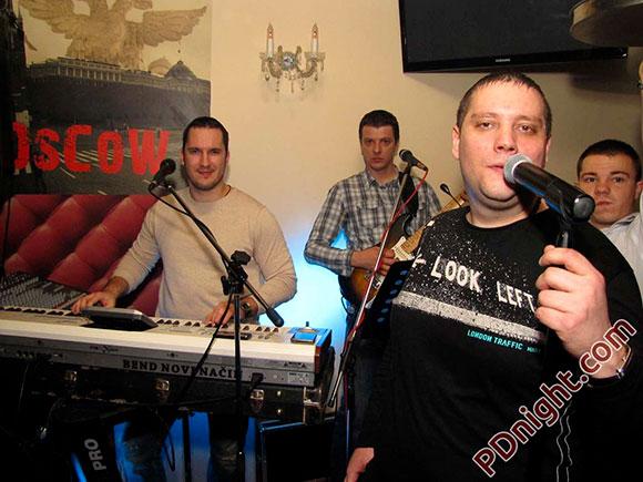 Bend Novi Način – Čela i Miki, Caffe Moscow Prijedor, 01.12.2012.
