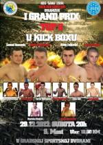 kick box sanski most-plakat
