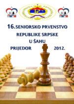 sahovsko prvenstvo rs-prijedor 2012