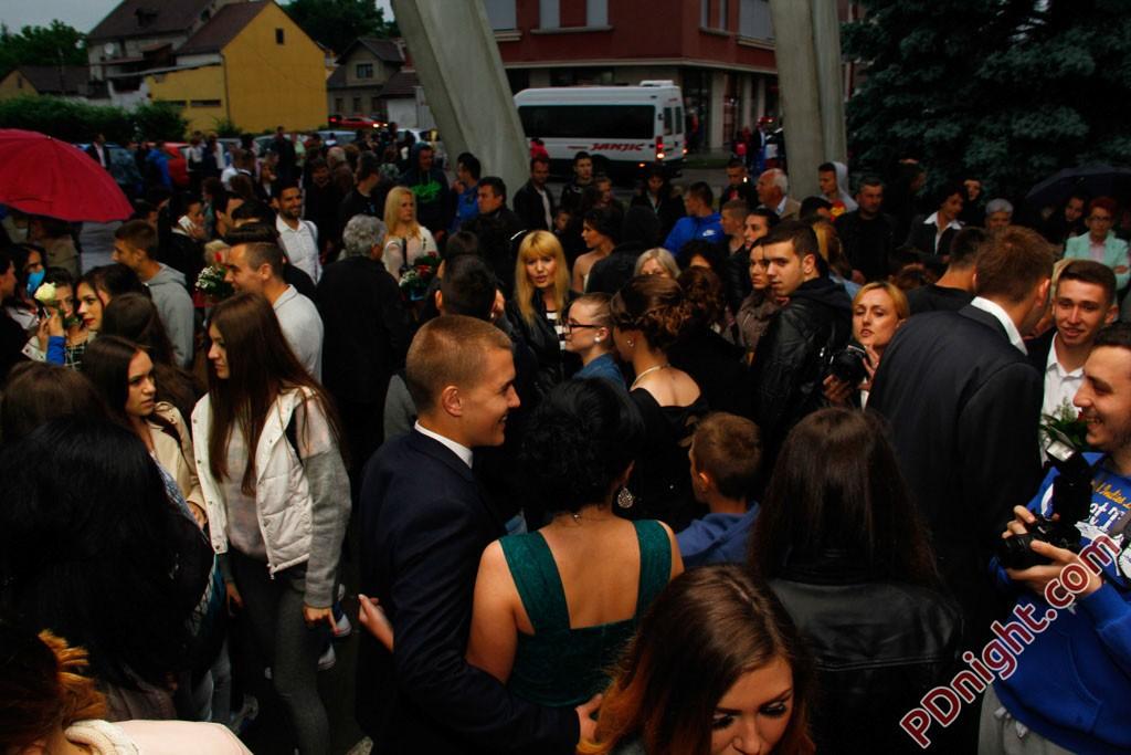 Maturanti JU Srednjoškolski centar i Muzičke škole Prijedor, 22.05.2015.