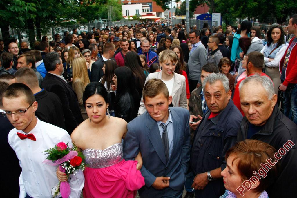 Maturanti Mašinske i Poljoprivredno-prehrambene škole Prijedor, 27.05.2015.