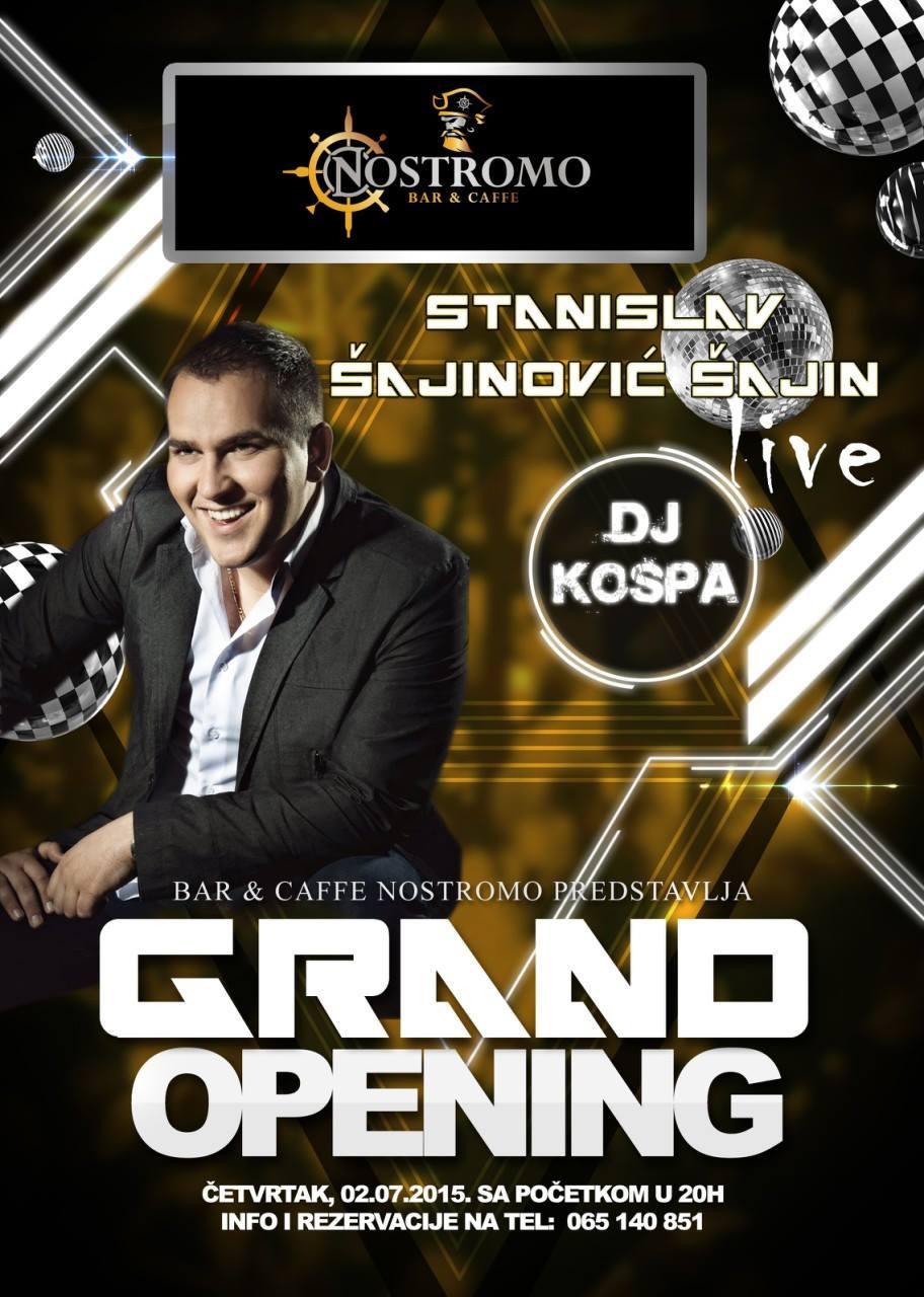 02.07.2015. - Nostromo caffe & bar: Grand opening