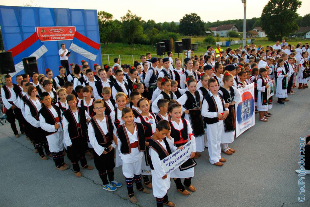"""Prva smotra folklornog stvaralaštva """"Rasavci 2015"""""""