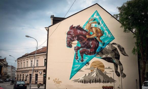 Prijedor uskoro dobija novi mural for Mural u vukovarskoj ulici