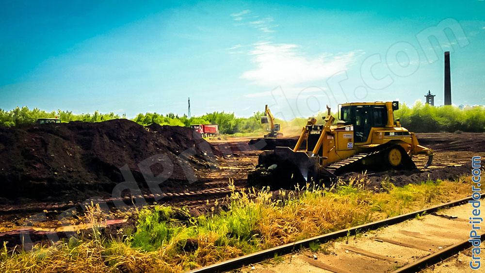 Počela izgradnja nove toplane / energane na biomasu.