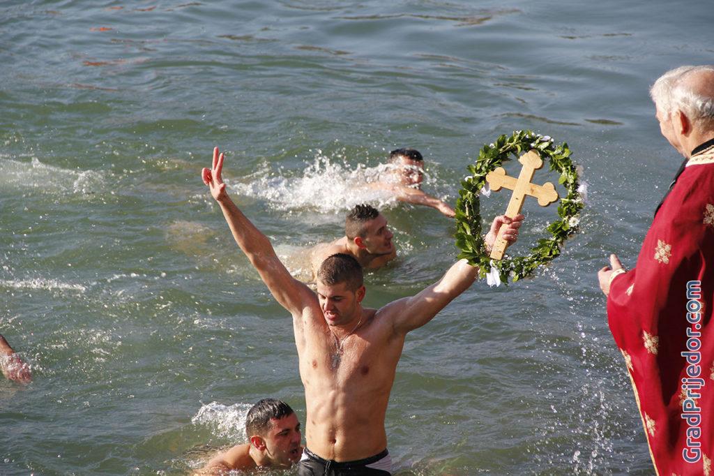 Plivanje za Casni krst 2016