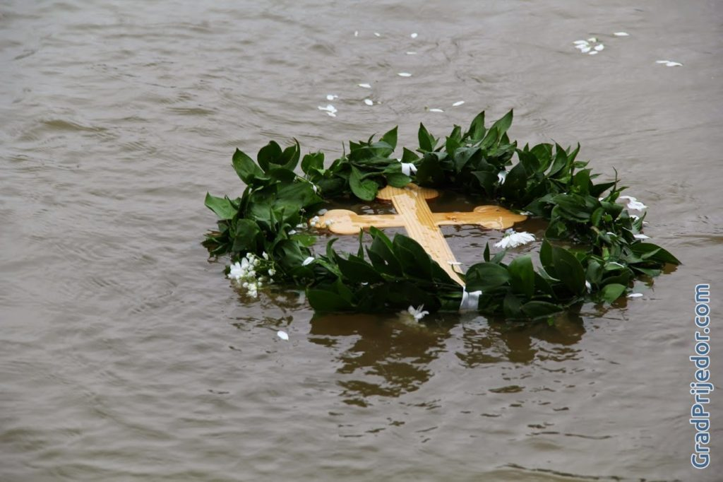 Plivanje za Časni krst, 19.01.2015.