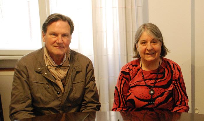 Paolo Parmezan i Kristina Bertoti