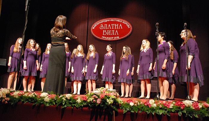 Djevojački zbor Cantus ante omnia iz Zagreba