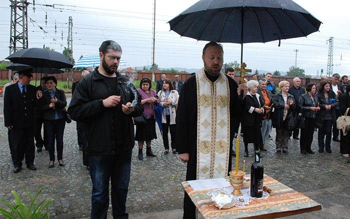 Parastos služio sveštenik Dragan Hrvaćanin