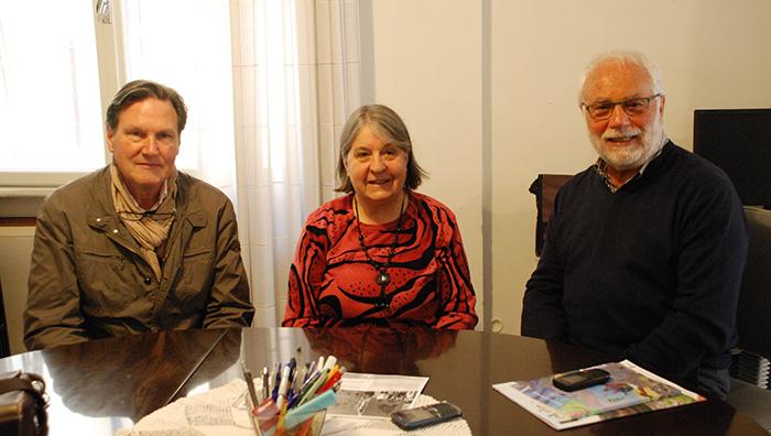 Paolo Parmezan, Kristina Bertoti i Ecio Pilati