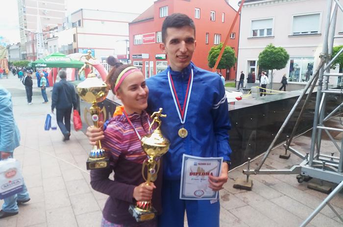 Prijedor-pobjednici-trke-Teodora-Simovic-i-Elzan-Bibic