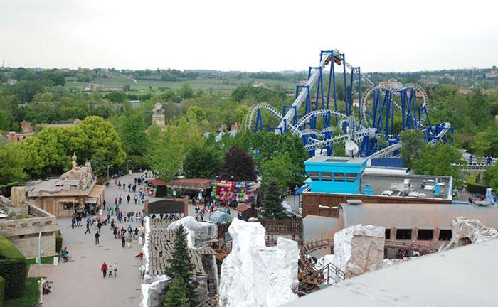 Blue Tornado, najpoznatiji roller coaster Gardalanda