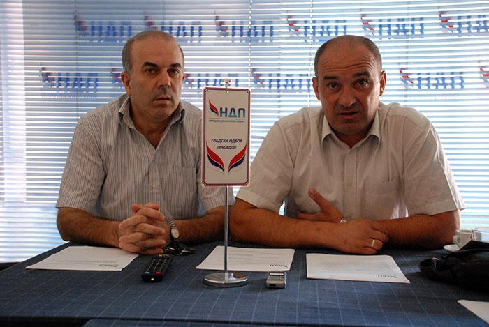 Draško Rendić i Dragan Dragojević