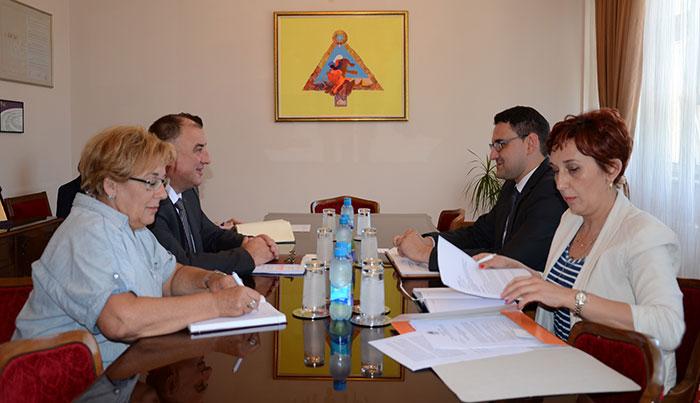 Zlatan Klokić i Milenko Đaković sa saradnicima