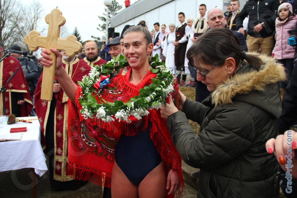 Plivanje za Časni krst, Prijedor, 19.01.2019.